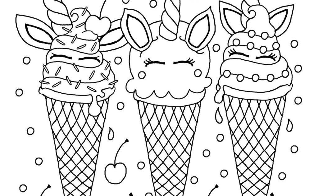 Pin On Ice Cream Coloring Pages