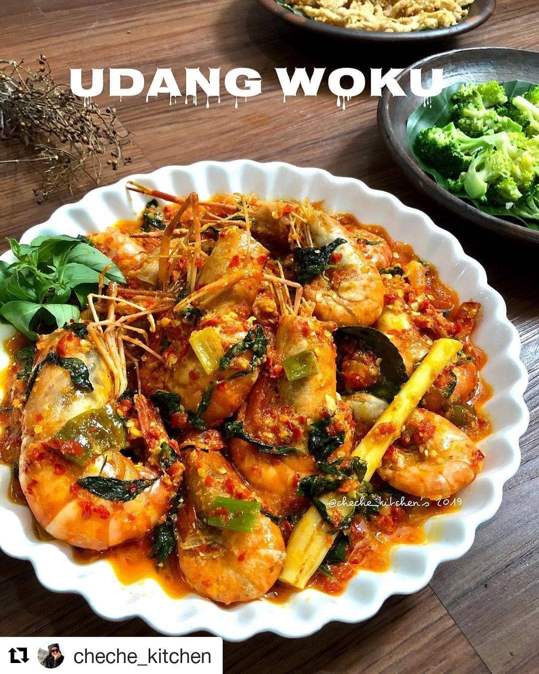 Udang Woku Resep Masakan Masakan Resep Makanan