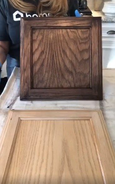 Outdated To Outstanding Golden Oak Cabinets In 2019 Diy