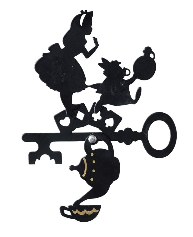 Disney Alice in Wonderland Silhouette Door Scope Lens ...