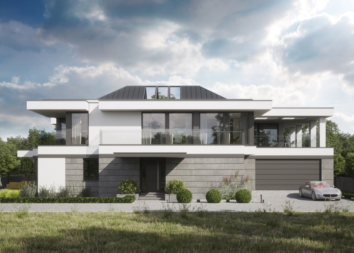 50 Stunning Modern Home Exterior Designs That Have Awesome Facades ...