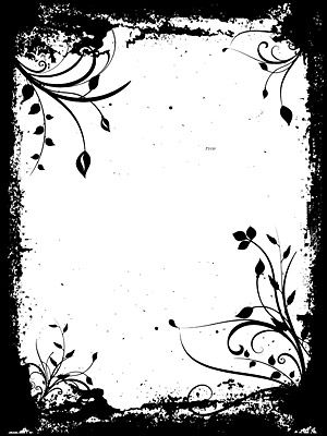 Cool Designs Black And White On Paper ai borders and ...