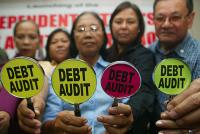 PATAS ARRIBA: Por una auditoría de la deuda. No al pago de una deuda ilegítima que no benefició a la población