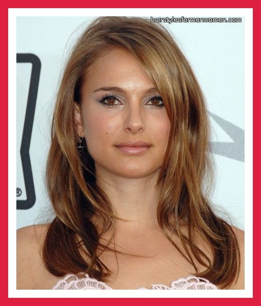 Easy Hairstyles For Long Thin Hair Natalie Portman Layered Hairstyle  Cute Hairstyles  Pinterest