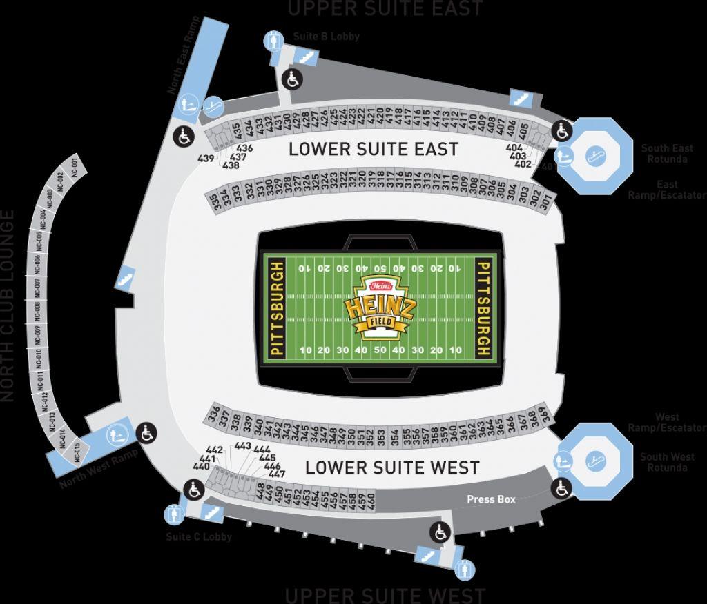 Heinz Field Seating Chart View