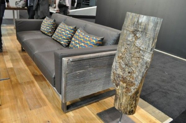 Great Furniture Collection Made From An Old Barn
