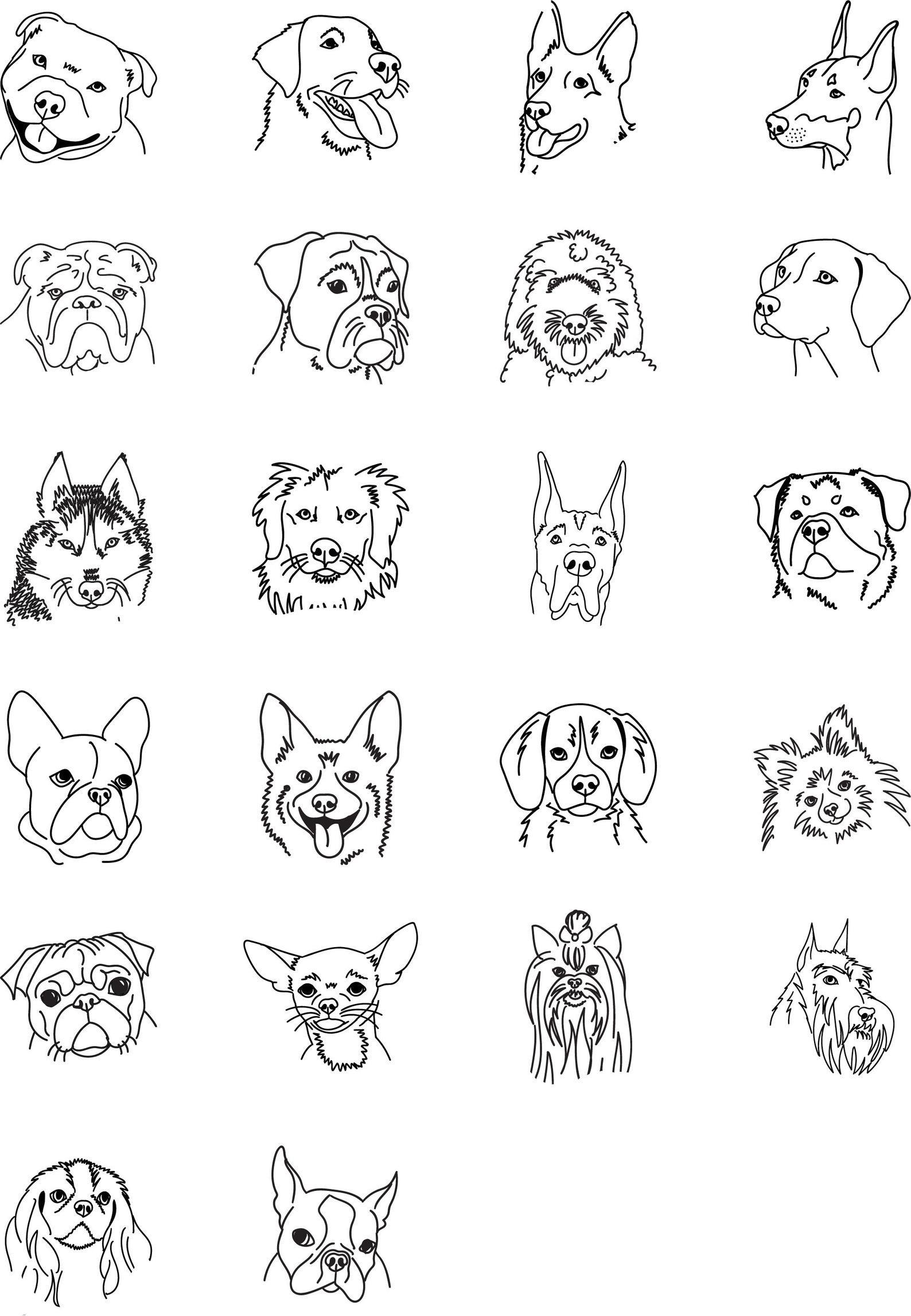 Labrador Dog Address Stamp Personalized Dog Stamp Personalized