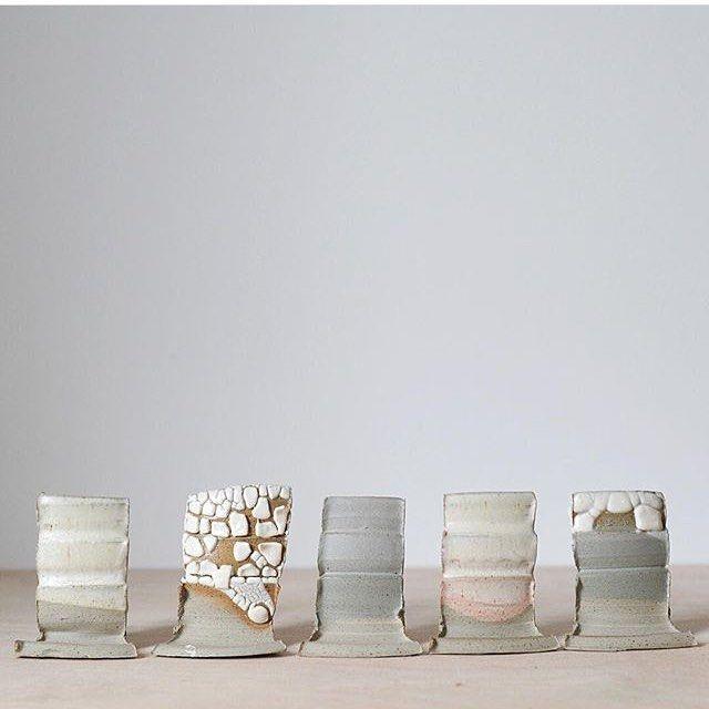 Ethereal #testtiles by @_jessica_coates_ . . . #kilnfolk #glaze #glazetest…