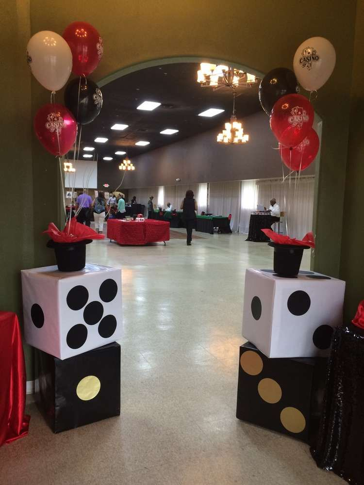casino themed birthday party ideas themed birthday