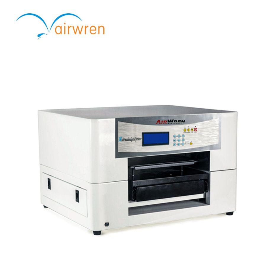 Black and white t-shirt flatbed printer ,digital fabric printing