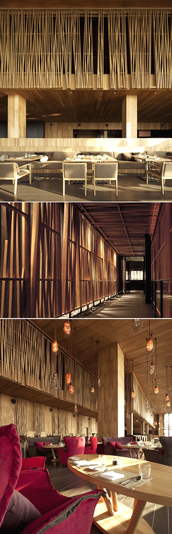 ★ 힐링까페에 일부 4층 칸막이를 저렇게 Edge_Hilton Pattaya_Department of Architecture....