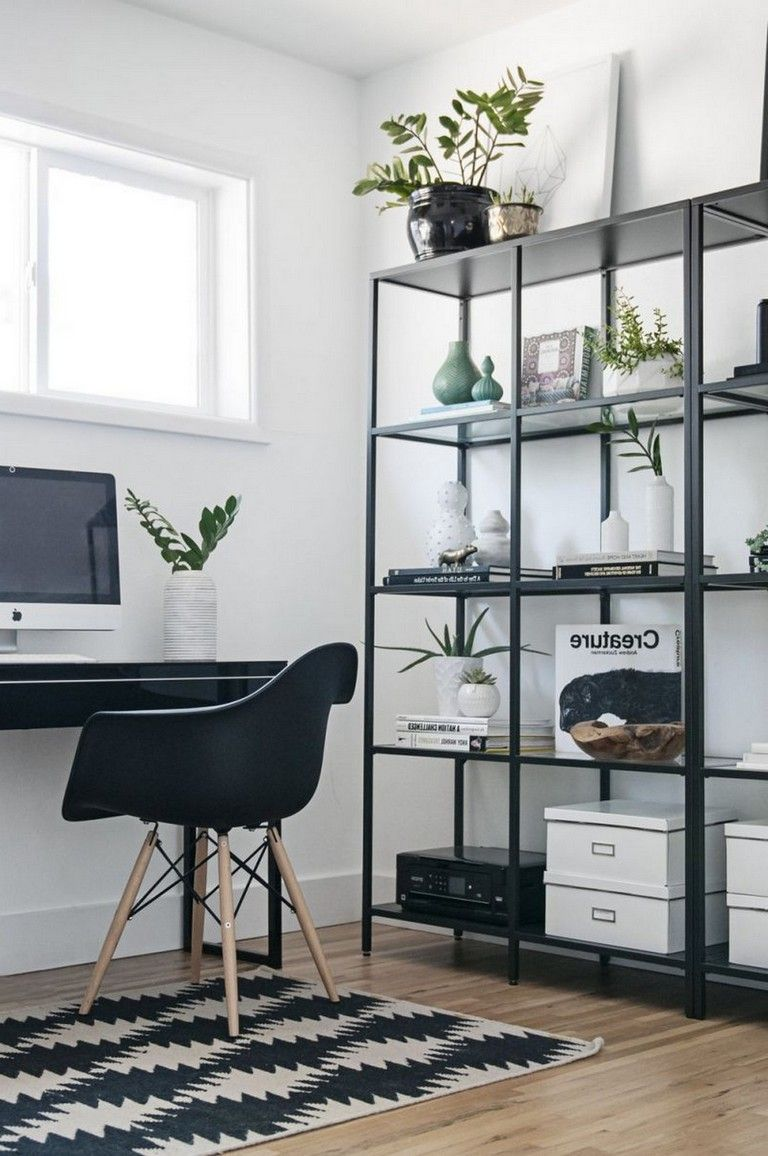 40 Smart Ways To Saving Space Your Home Office Homeoffice