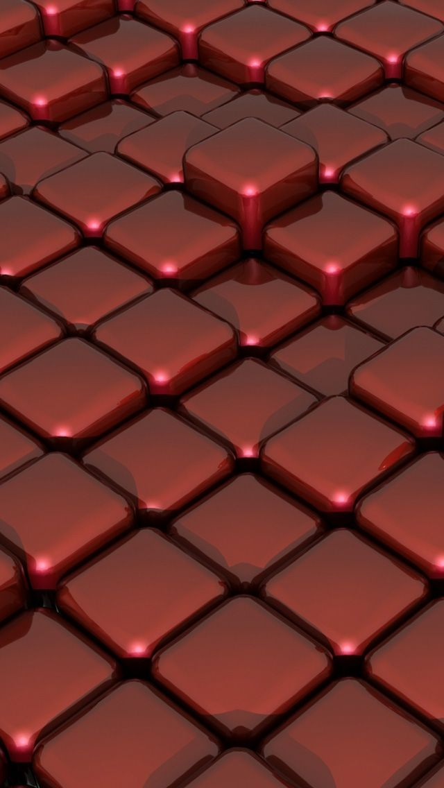 3d red glass on box floor iphone 5s wallpaper http for 3d wallpaper red