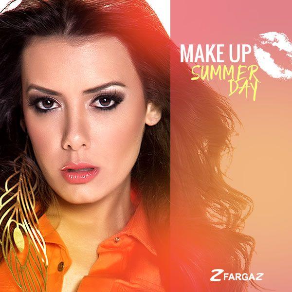 O trio olho esfumado + iluminador + gloss funciona muito bem para quem quer uma maquiagem super glamurosa para o verão. Inspire-se!