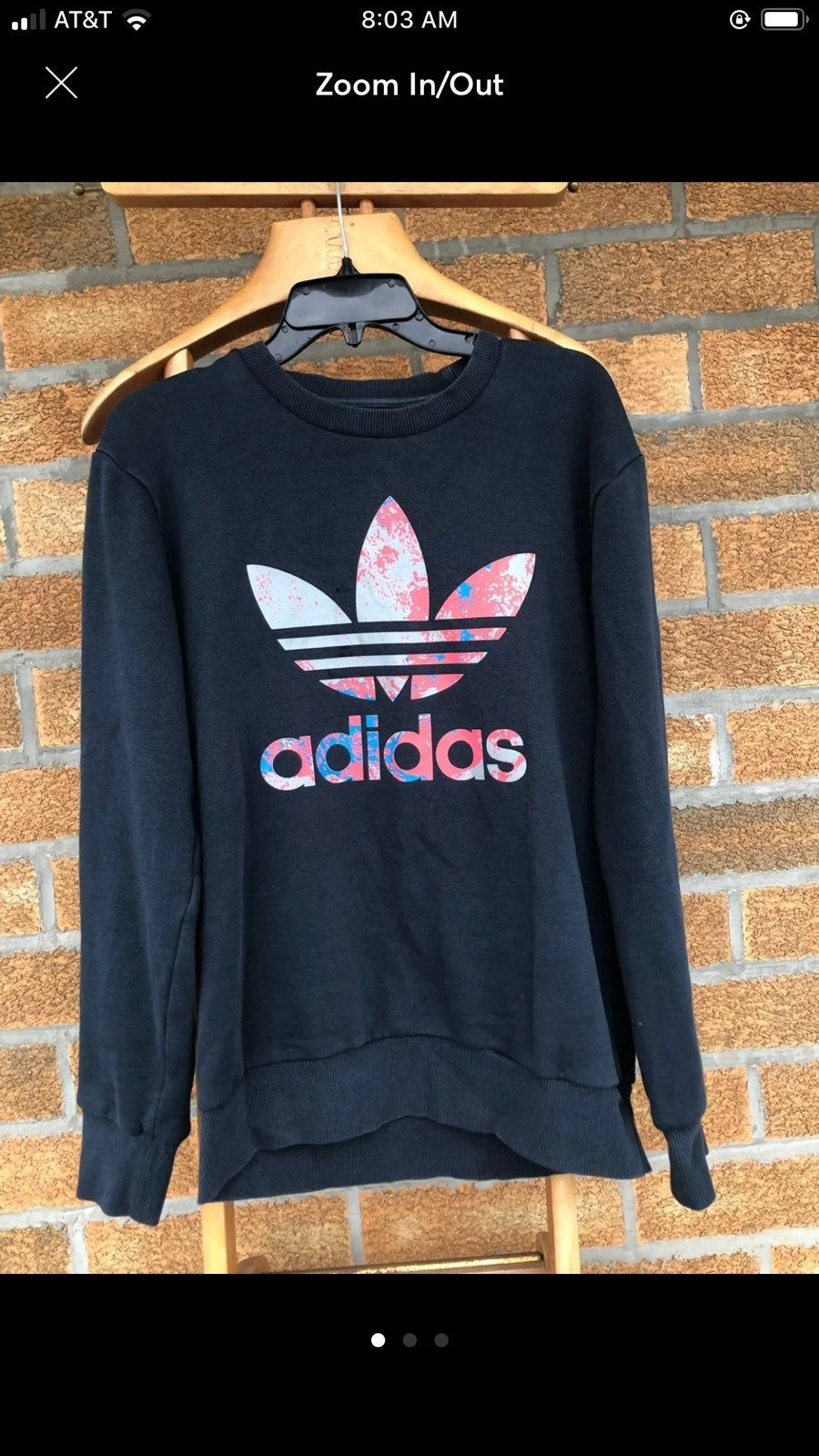 Adidas Originals Sweatshirt Size Small Sweatshirts Adidas Crop Adidas Hoodie [ 1600 x 900 Pixel ]