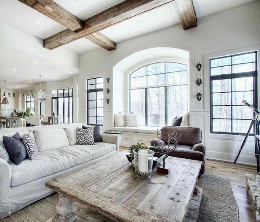 57 Cozy Farmhouse Living Room Makeover Decor Ideas