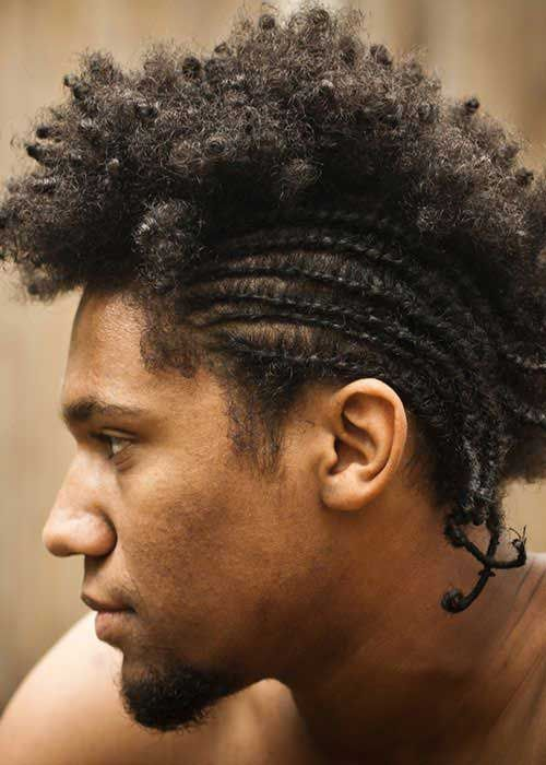 Hairstyles For Curly Hair Black Guys : The 25 best black men haircuts ideas on pinterest haircut