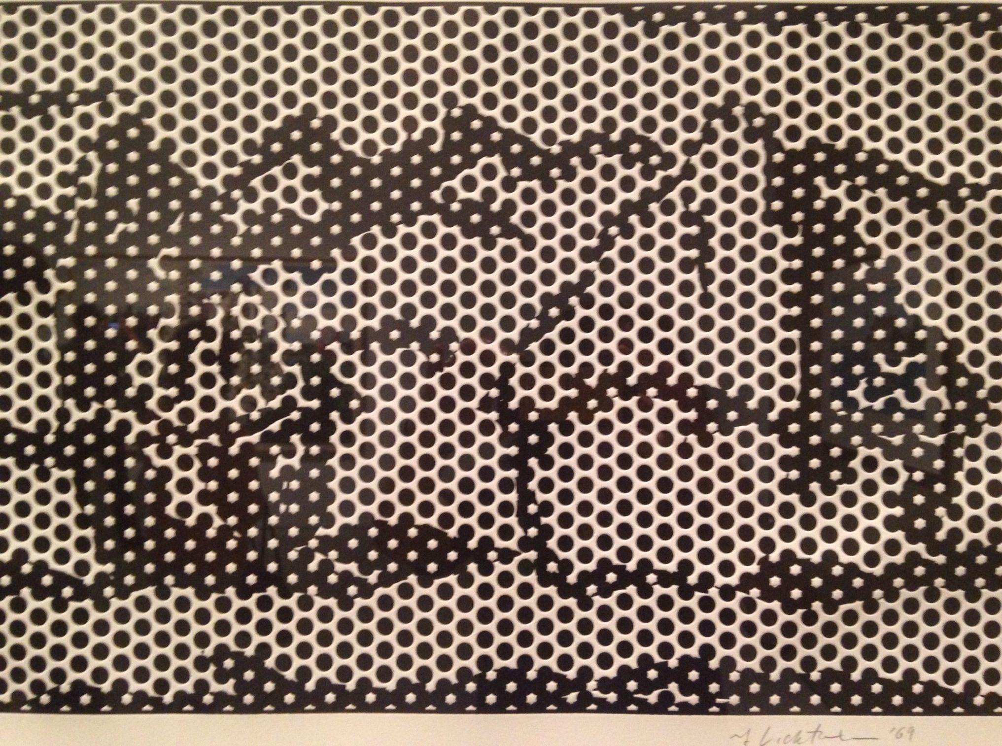 """Roy Lichtenstein (1923-1997), """"Haystack #7"""" - Tampa Museum of Art ~ Tampa, Florida, USA"""