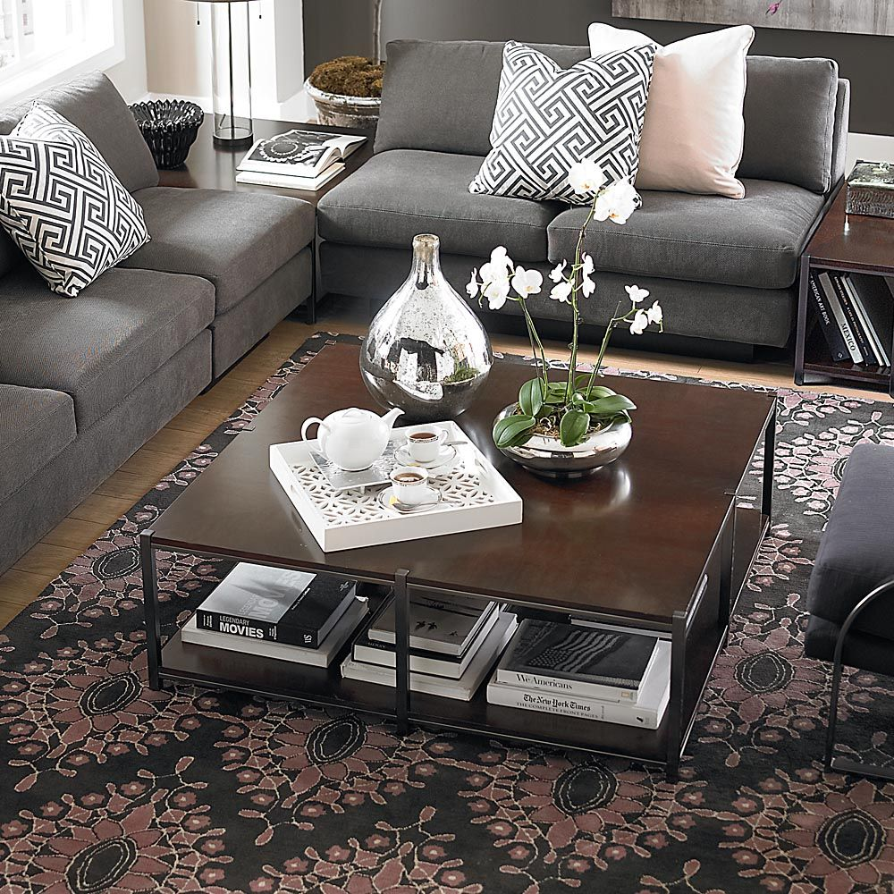 Large Square Cocktail Table Living Room Coffee Table Bassett Furniture Large Square Coffee Table [ 1000 x 1000 Pixel ]