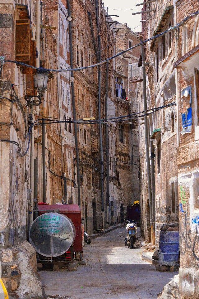Alley in Sanaa, Yemen
