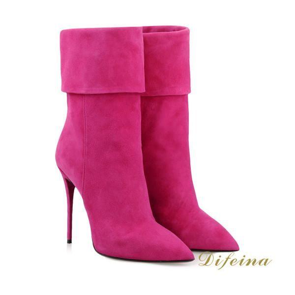 http://www.dhgate.com/product/woman-fuchsia-short-boot-stretch-deerskin/201431076.html
