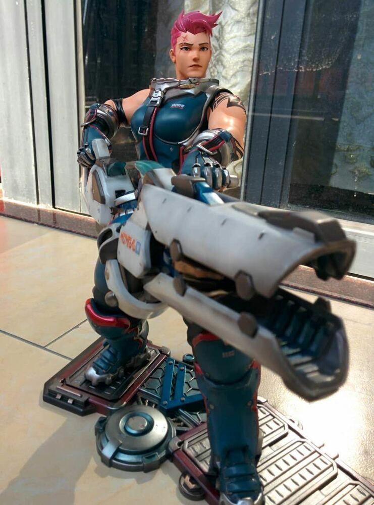 Toy Model Overwatch OW Zarya Figure 1:6 Resin Decoration
