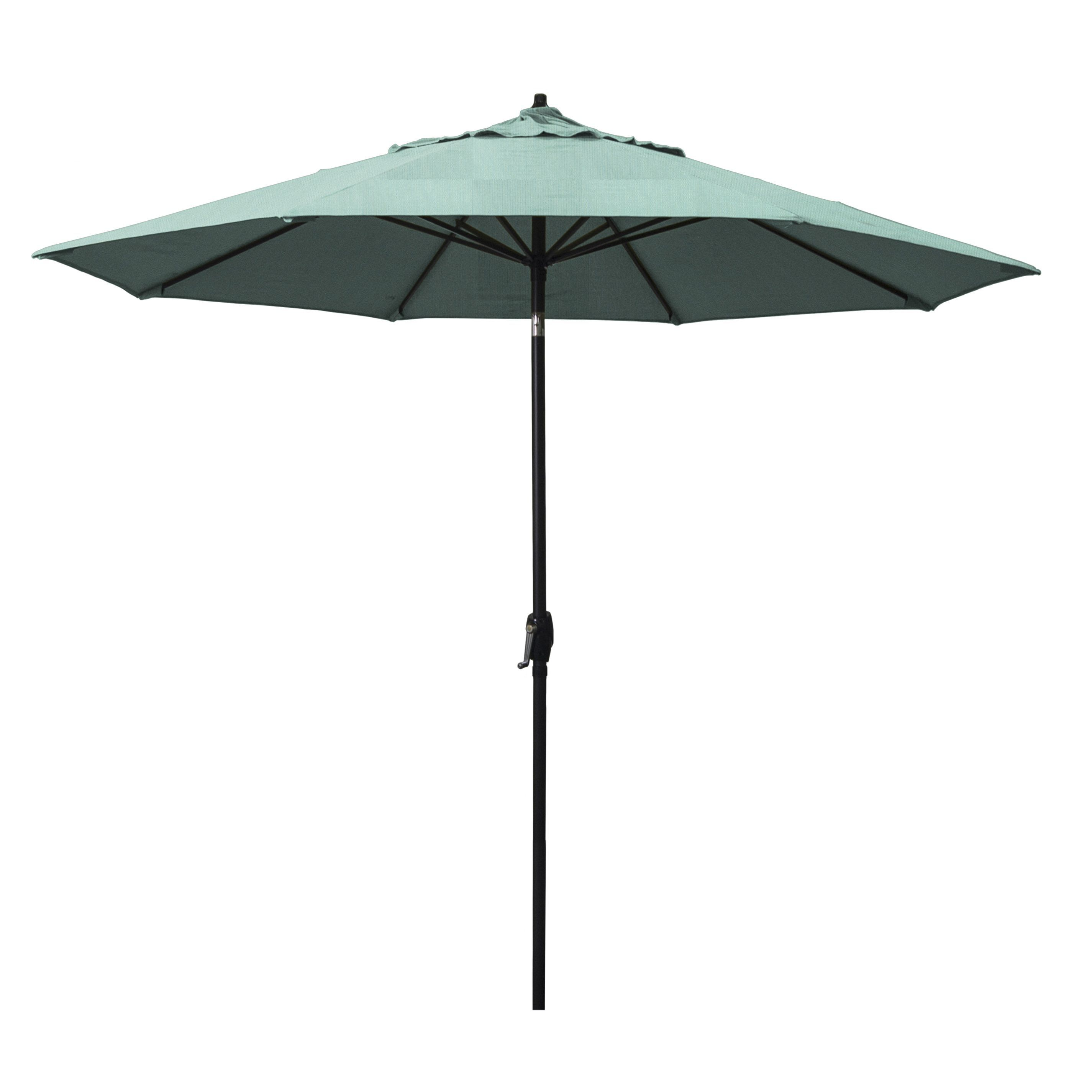 Astella 9 Rd Crank Open Tilt Aluminum Market Umbrella