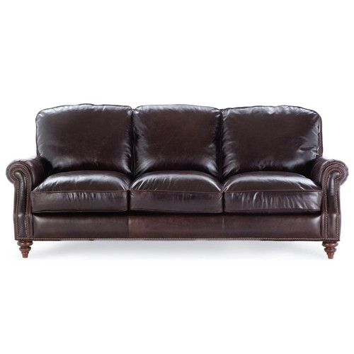 7203 Three Piece Sectional Sofa By Futura Leather: 6663 Stationary 3 Seat Sofa By Futura Leather