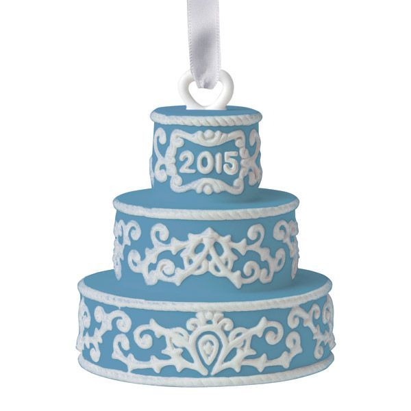 Wedgwoods Our First Christmas Ornament  Wedding Ornament 2015