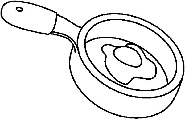 Fried Egg Frying Pan Coloring Pages Download Print Online Coloring Pages For Free Color Nimbus Online Coloring Pages Coloring Pages Online Coloring