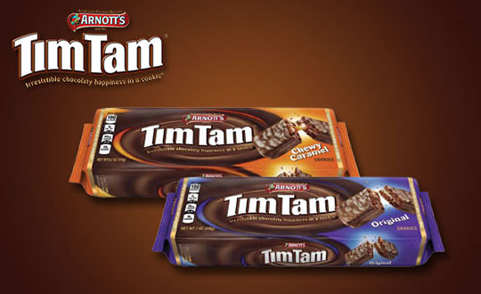 Arnott's Tim Tam cookies review.