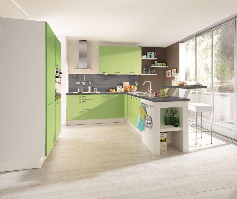 Ideen für die Küchen-Farbgestaltung: 17 Bilder von farbigen Alno