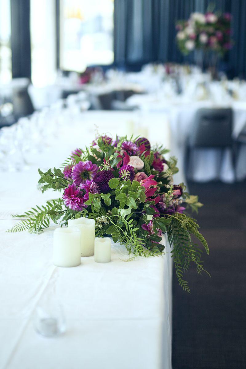 Wedding Flowers Floral Centrepieces Unstructured Florals