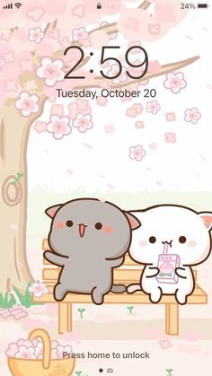 CUTE AESTHETIC MOCHI Cats Peach and Goma App Icons | 150+ Ios14 App Icons | Pink icons | Mint Icons | iPhone App Covers | Cute Kawaii Icons