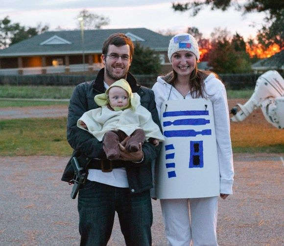 Star Wars family costumes!! Baby Johnson Pinterest Costumes - halloween costume ideas for family