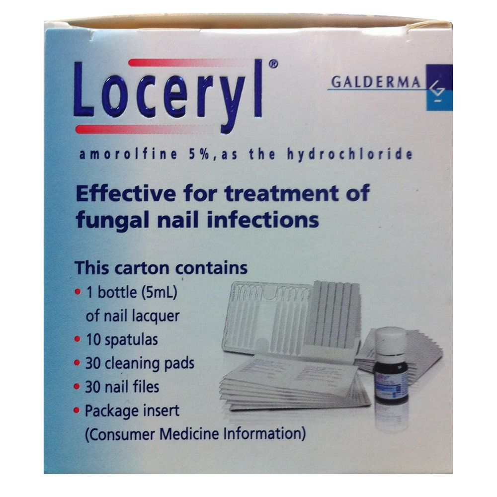 Loceryl Nail Lacquer Treatment 5ml Antifungal by Galderma | Health ...