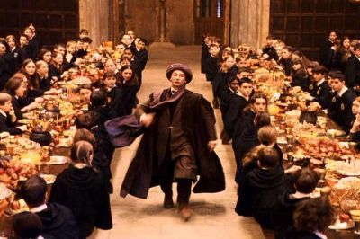 Professor Quirrel in the Great Hall