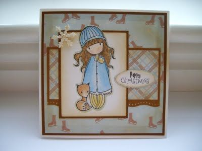 Cuddly Cards: Totally Gorjuss Christmas Blues!