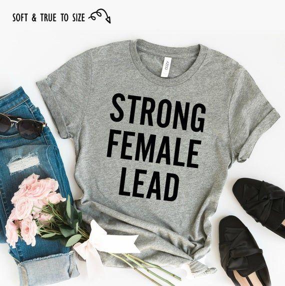 Christmas Strong female lead Shirt - feminist t shirt, funny feminist tshirt, strong female lead tshirt, feminism shirts, feminist prints #papashirts