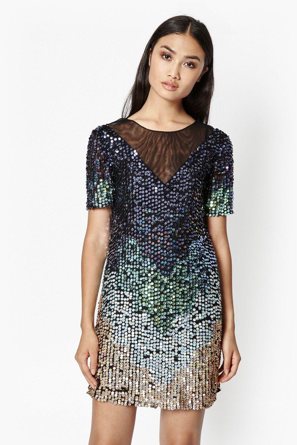 31f601f21ff0 Cosmic Beam Sequin Dress