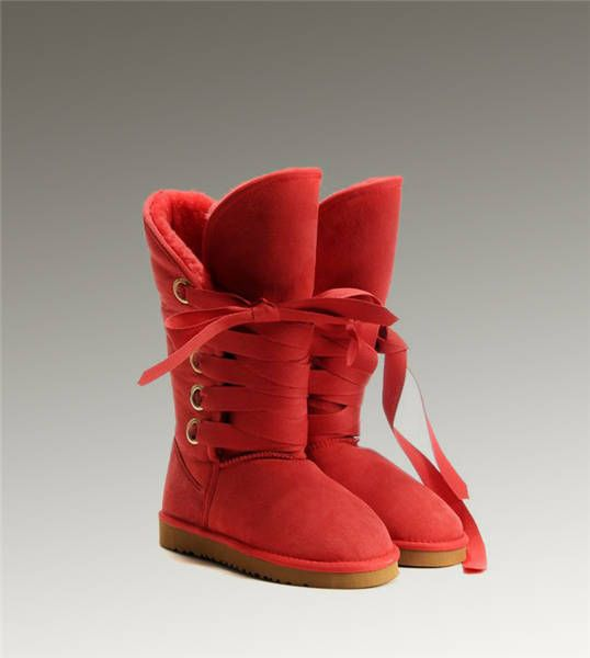 229fee39911 UGG Tall Roxy 5818 Red Boots | Shoes in 2019 | Fashion shoes ...