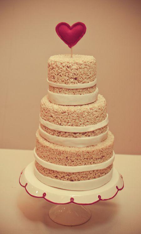 Nice Wedding Cake Prices Thin Wedding Cakes With Cupcakes Round Wedding Cake Frosting Wood Wedding Cake Old A Wedding Cake DarkSafeway Wedding Cakes Wedding Cake Of The Week: DIY Rice Krispies Cake | Rice Krispies ..