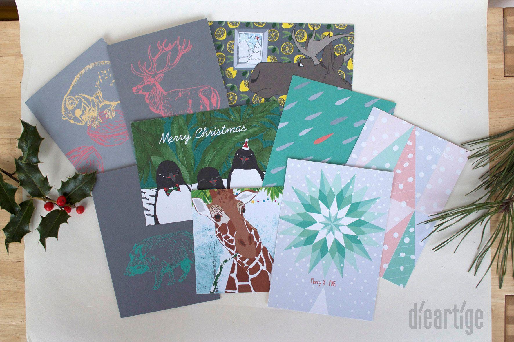 dieartigeBLOG - dieartige Kartenedition 2015 // Cards from 2015