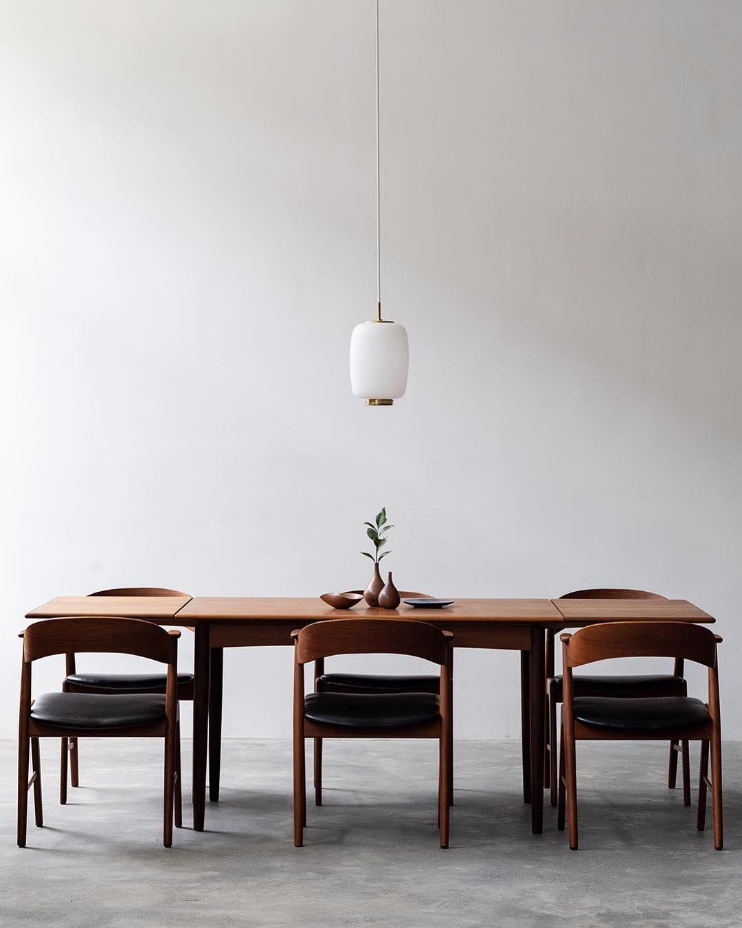 Vintage Danish Dining Table In Teak Danish Dining Table Danish Modern Dining Chair Danish Dining Rooms