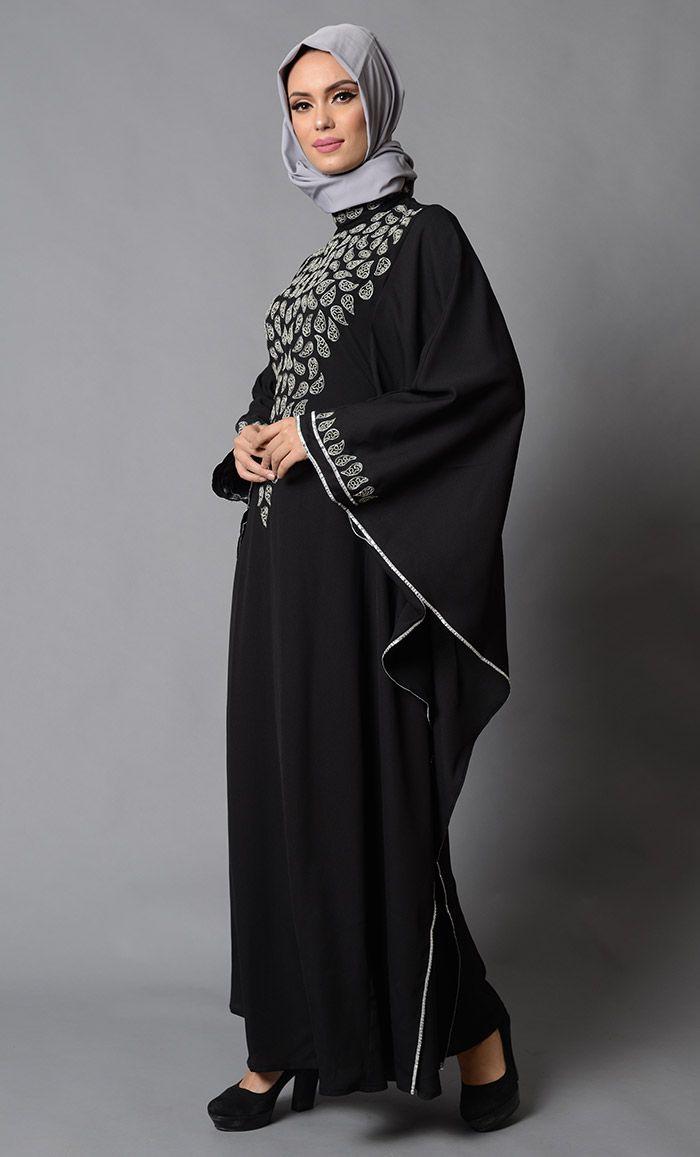 Ziemlich Abaya Kaftan Partykleider Zeitgenössisch - Brautkleider ...
