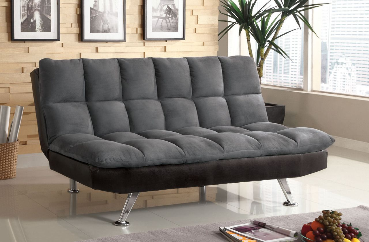 Domestico Furniture - Cesar 13ft Grey Fabric Sectional ...