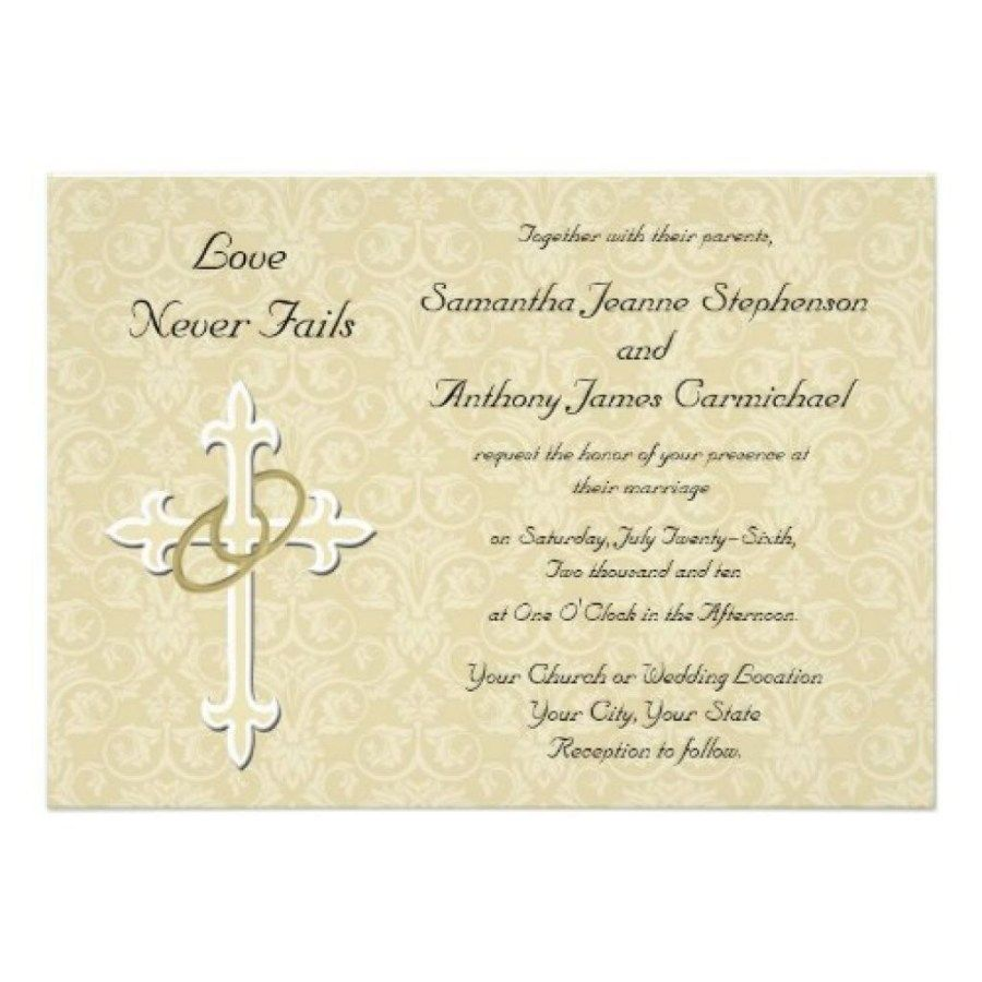 25+ Beautiful Picture of Christian Wedding Invitations ...