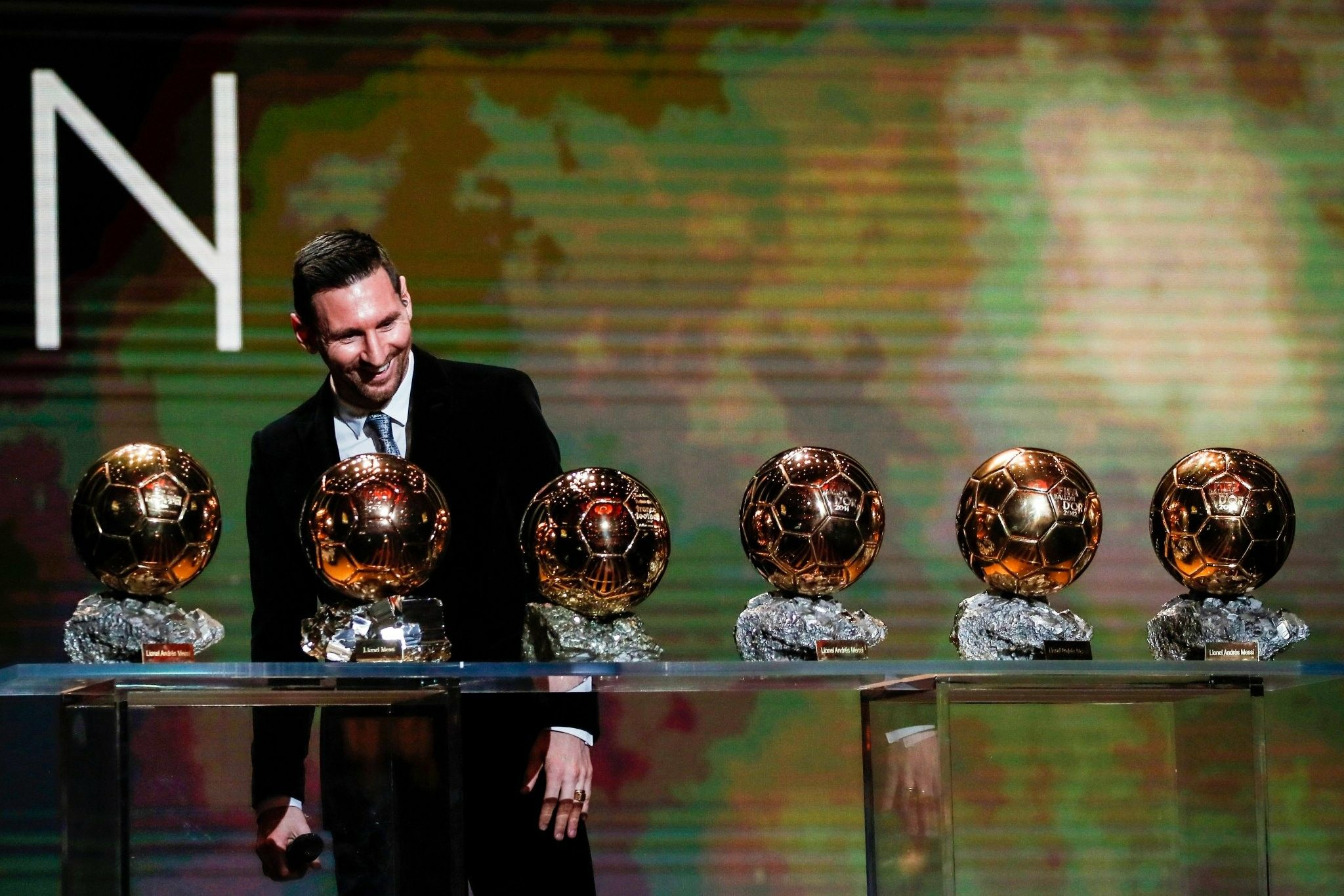 Messi 6 Ballons D Or Lionel Messi Messi Ballon D Or
