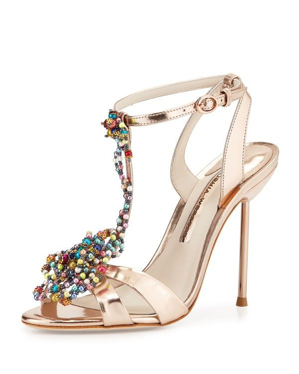 Sophia Webster Beaded Ankle Strap Sandals best prices cheap price cheap sale popular aamkxKQ5