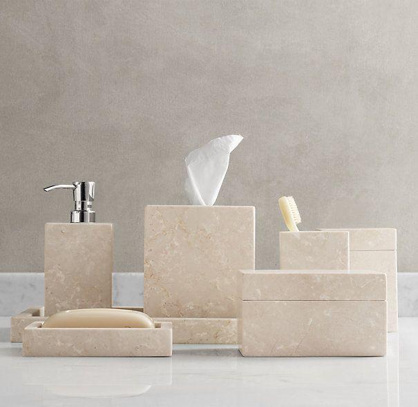 Crema Marble Bath Accessories Marble Bath Marble Bathroom